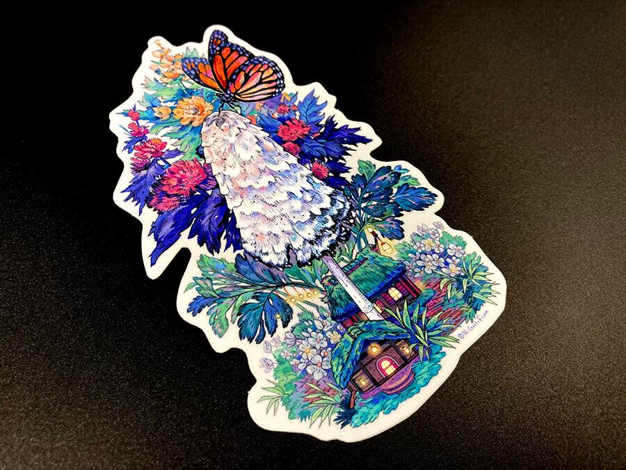 Mirror Foil Die Cut Sticker
