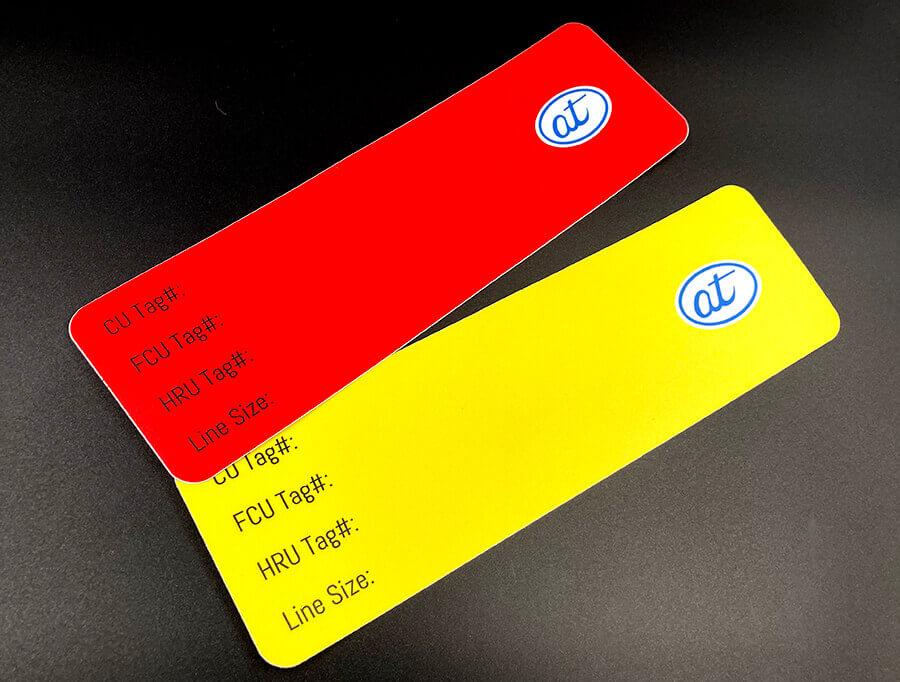 Sandy Matte Full Color Rectangular Stickers