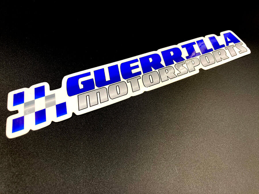 Glossy Coated Full Color Die Cut Sticker