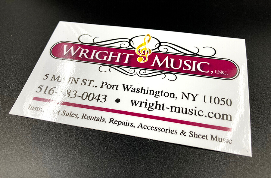 Full Color Glossy Vinyl Stickers