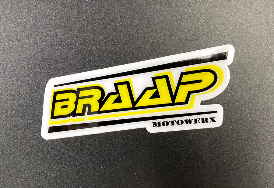 Full Color 12mil Heavy Duty Vinyl Stickers with Hi-Tack Adhesive