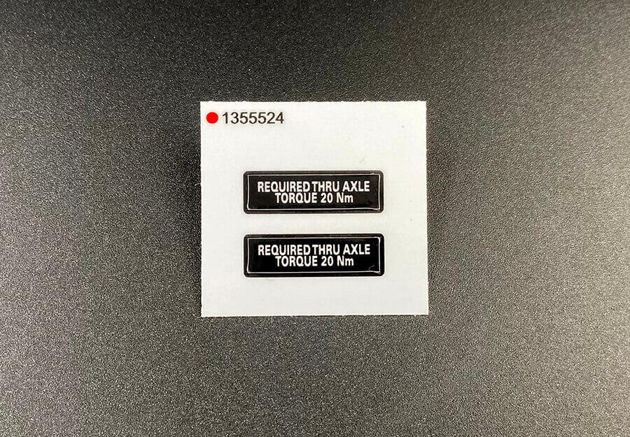 12mil Heavy Duty Glossy Vinyl Kiss Cut Stickers